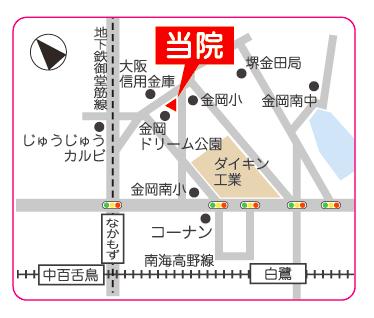 あけど小児科イラストマップ